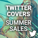 Twitter Profile Cover - Summer Sales - GraphicRiver Item for Sale