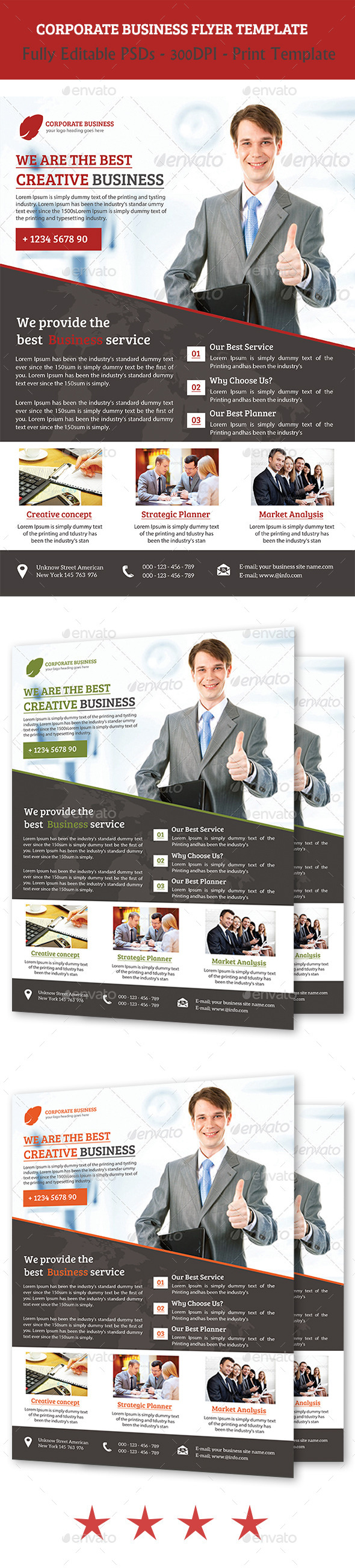 GraphicRiver Corporate Business Flyer 11249420