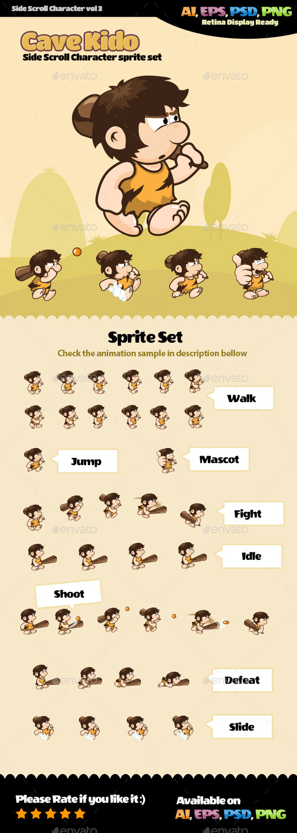 GraphicRiver Side Scroll Character Vol 03 11249715