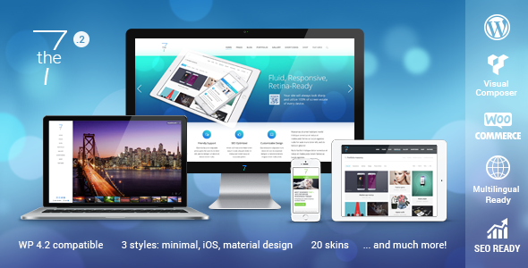 The7 — Responsive Multi Purpose WordPress Theme