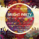 Bright Party Music Poster Template - GraphicRiver Item for Sale
