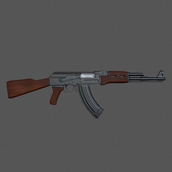 3DOcean AK 47 11250039