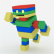 Cube Robot - 3DOcean Item for Sale