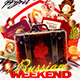 Russian Weekend flyer - GraphicRiver Item for Sale