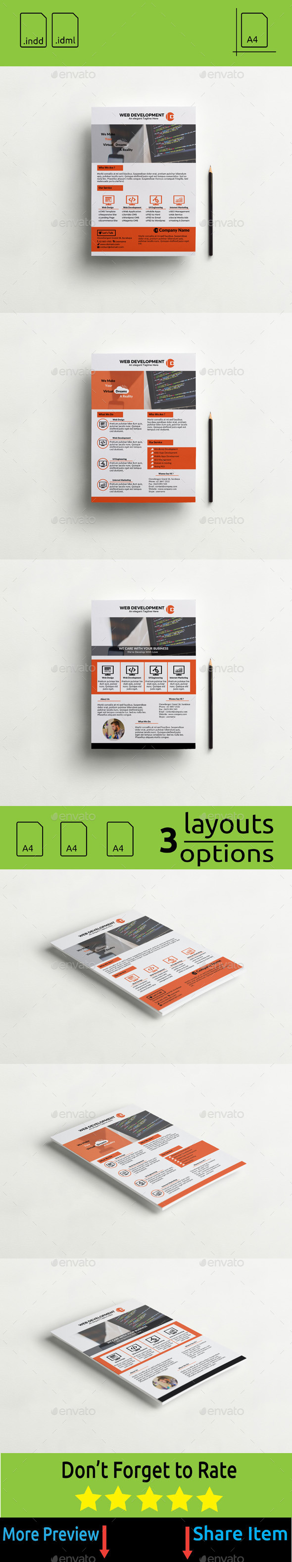 GraphicRiver Flyer Web Apps and Web Design Development 11250228