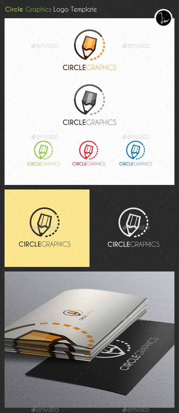 GraphicRiver Circle Graphics Logo 11250281