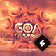 Goa Madness - Psytrance Album CD Cover Template - GraphicRiver Item for Sale