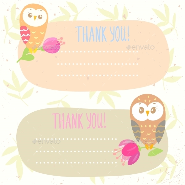 GraphicRiver Owls Frame 11250438
