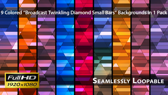 Broadcast Twinkling Diamond Small Bars Pack 02
