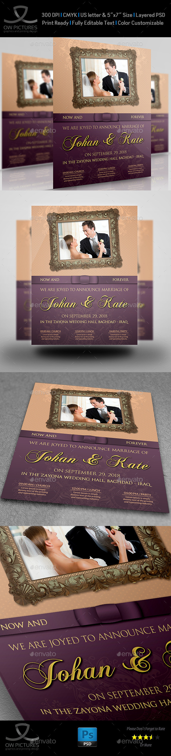 GraphicRiver Wedding Party Flyer Template 11250952