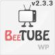 BeeTube Video WordPress Theme - ThemeForest Item for Sale