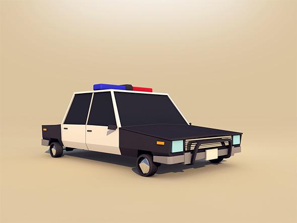 3DOcean Police car 11251614