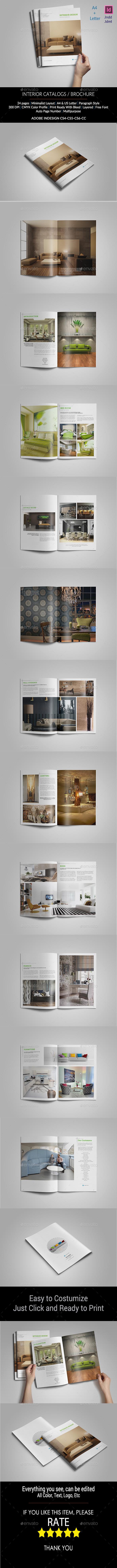 GraphicRiver Interior Brochure Template 11251668