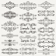 Vector Black Hand Drawn Dividers, Frames, Swirls - GraphicRiver Item for Sale