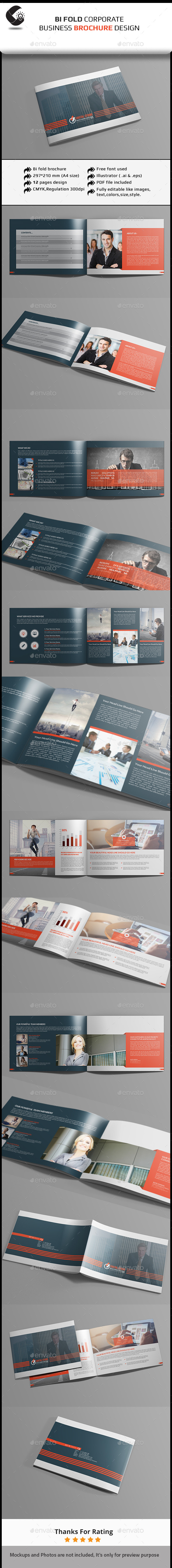 GraphicRiver Corporate Brochure Template 11251773