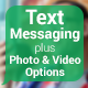Text Messaging with Photo and Video Options - VideoHive Item for Sale