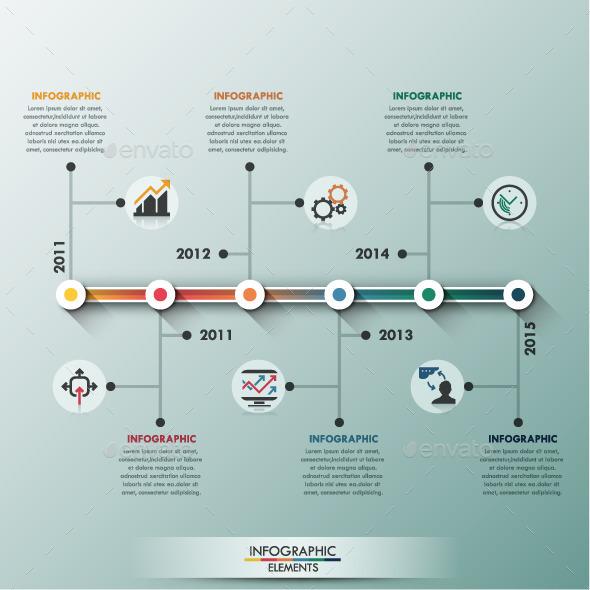 GraphicRiver Modern Infographic Minimal Timeline 11251831