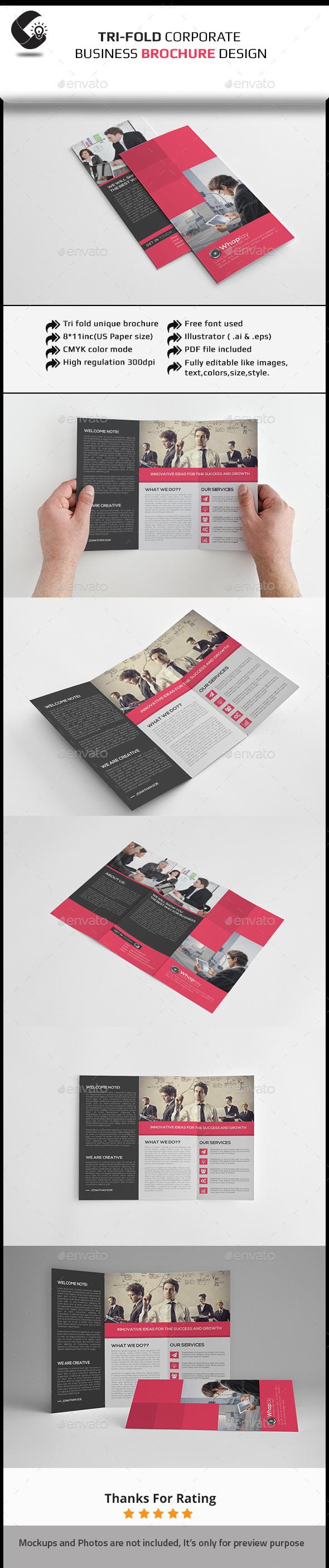 GraphicRiver Tri-Fold Clean Brochure 11251841