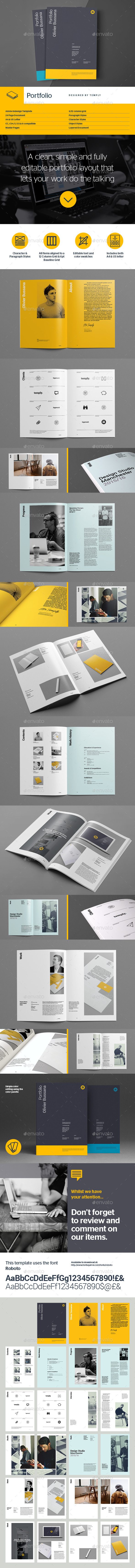GraphicRiver Portfolio Template 11251846