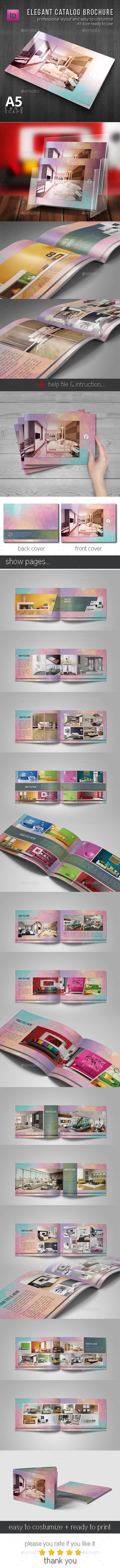 GraphicRiver Elegant Catalog Brochure 11247548