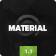 Material - Multi-Purpose HTML with Page Builder - ThemeForest Item for Sale