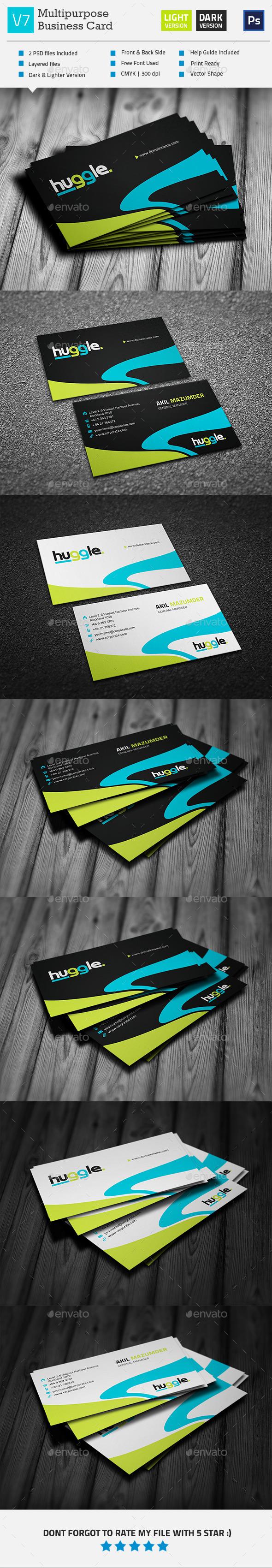 GraphicRiver Creative Business Card V7 11251927