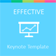 Effective Keynote Template - GraphicRiver Item for Sale