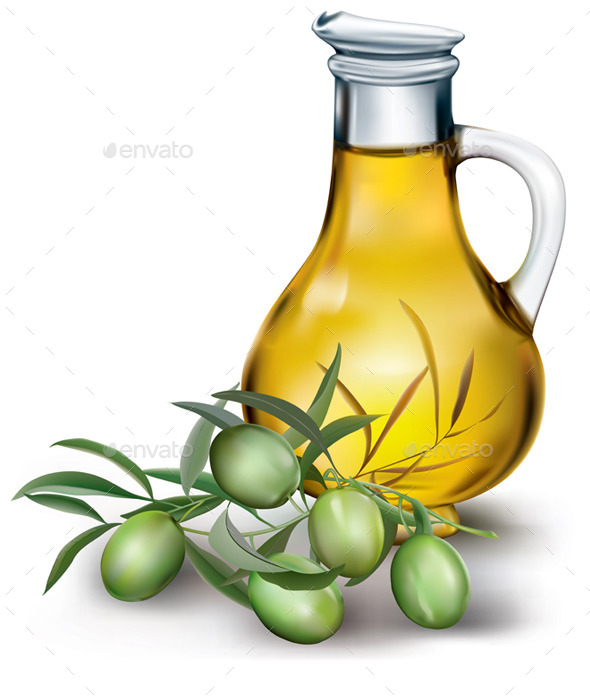 GraphicRiver Bottle of Olive Oil 11252283