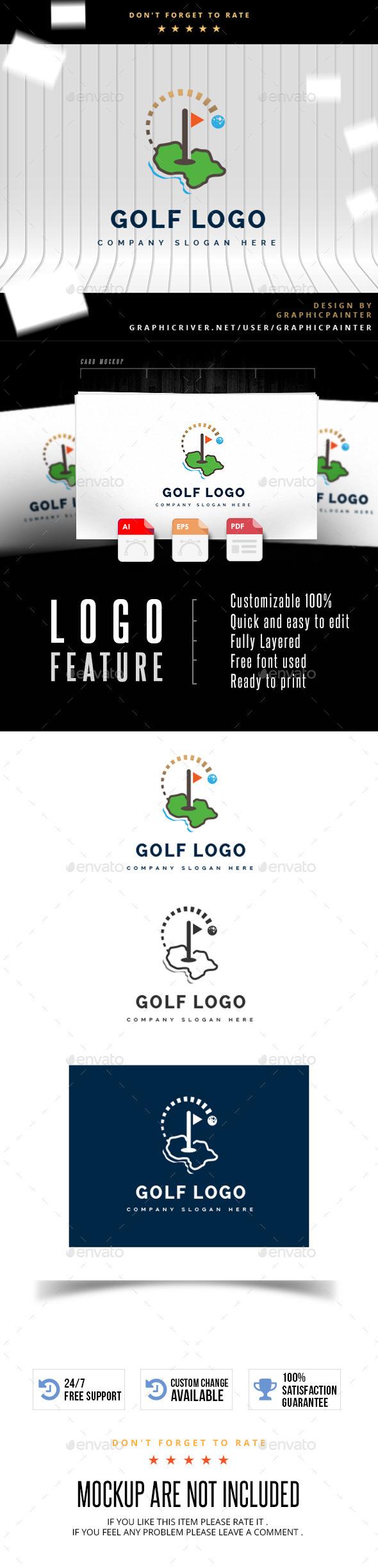 GraphicRiver Golf Logo 11252304