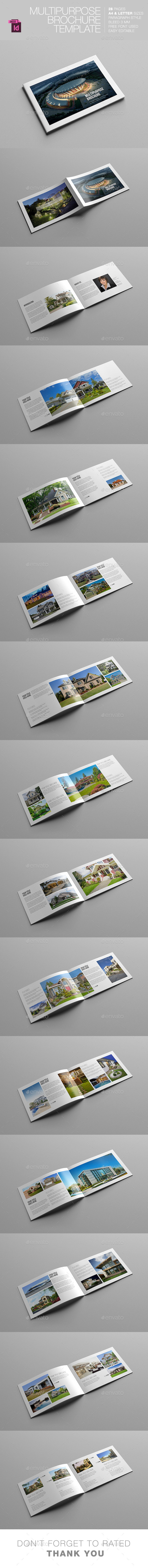 GraphicRiver Minimal Multipurpose Brochure 11252334