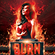 Burn Party Flyer Template - GraphicRiver Item for Sale