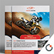Bike Racing Flyer Template - GraphicRiver Item for Sale
