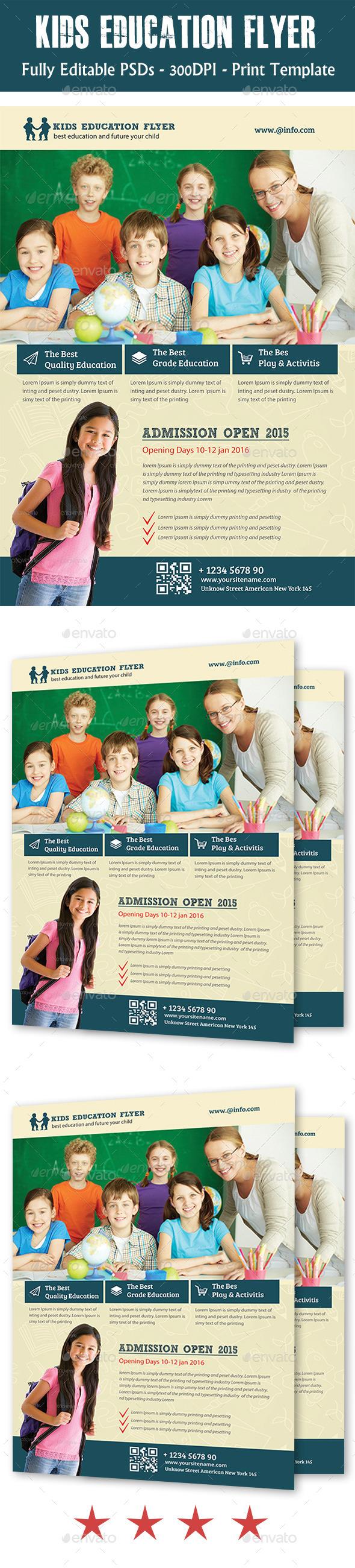 GraphicRiver Kids School Flyer 11252853