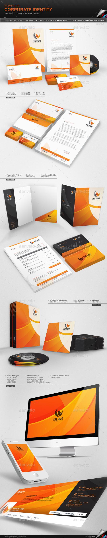 GraphicRiver Corporate Identity Fire Sight 11252866