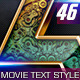 46 Movie Text Style Bundle - GraphicRiver Item for Sale