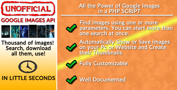 CodeCanyon Google Images Unofficial API 11252882