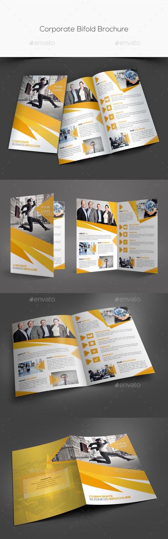 GraphicRiver Corporate Bifold Brochure 11252886