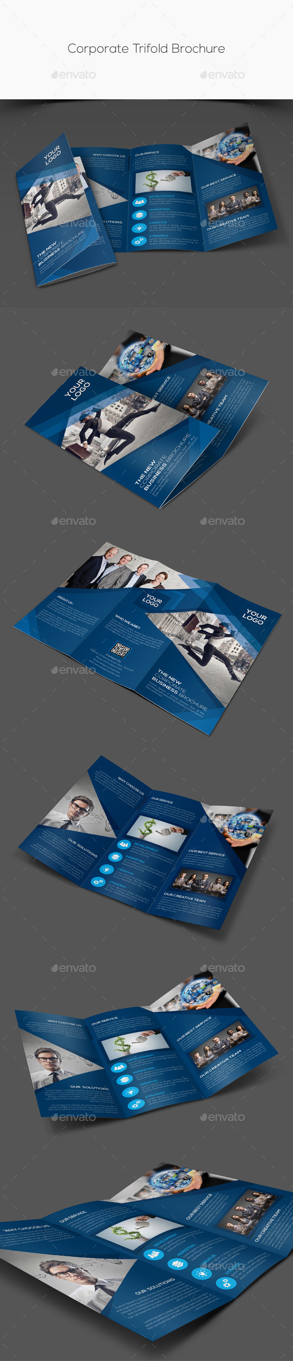 GraphicRiver Corporate Trifold Brochure 11252931