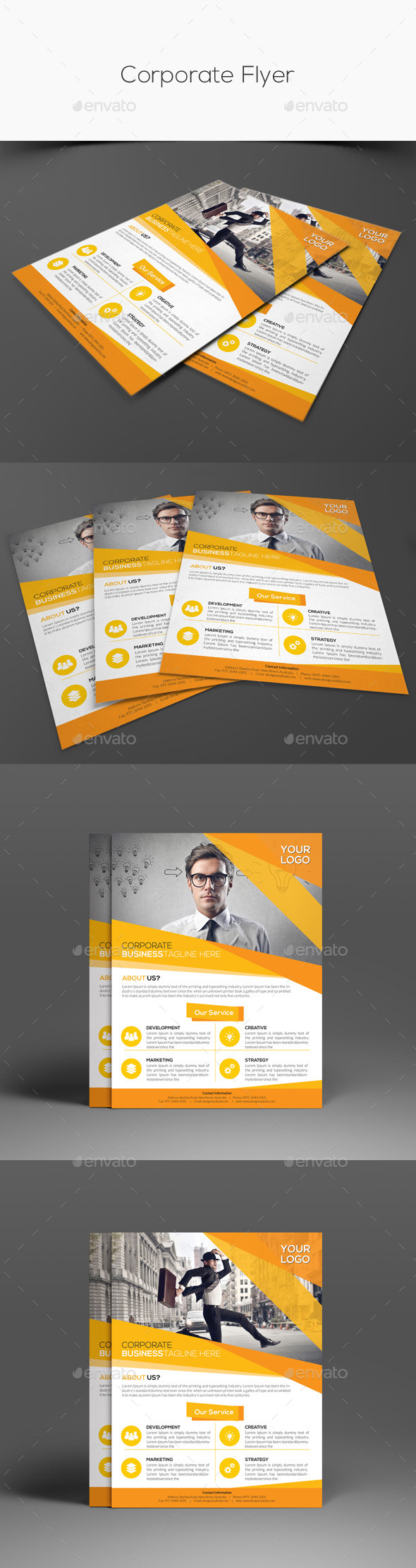 GraphicRiver Corporate Flyer 11252950
