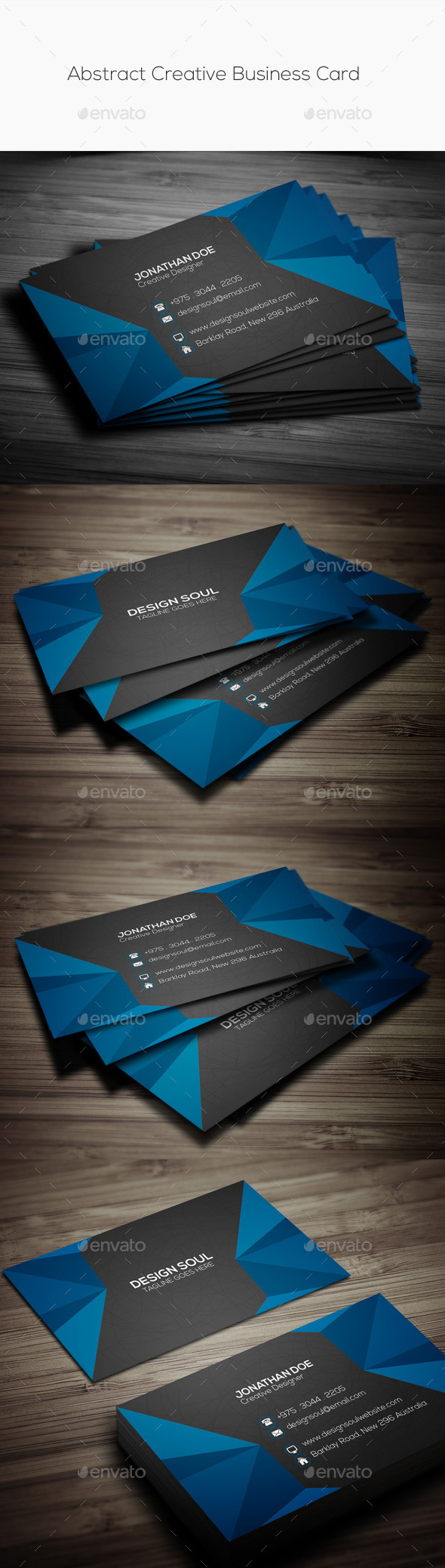 GraphicRiver Abstract Creative Business Card 11252965