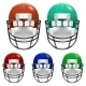 Football Helmets Set - GraphicRiver Item for Sale