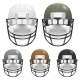 Set Of Football Helmets  - GraphicRiver Item for Sale