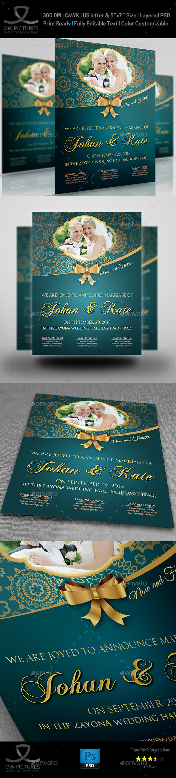 GraphicRiver Wedding Party Flyer Template Vol.2 11253046