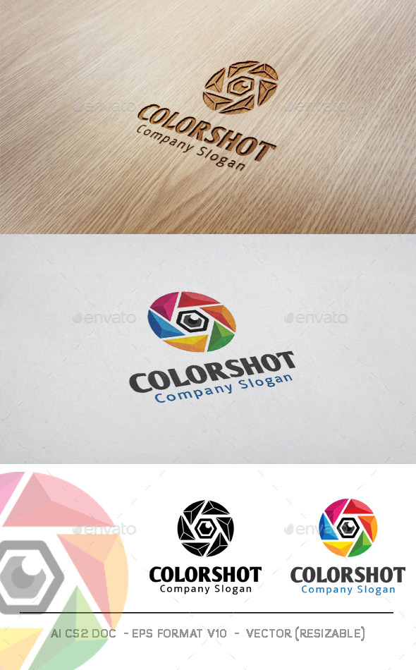 GraphicRiver Color Shot Logo 11253154