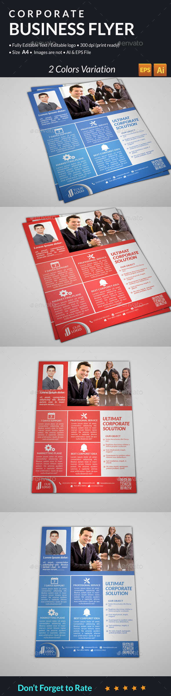 GraphicRiver Corporate Business Flyer 11253188