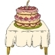Cake On The Table - GraphicRiver Item for Sale