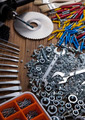 Still life with constructor tools - PhotoDune Item for Sale