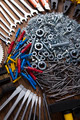 Assorted work tools on wood background - PhotoDune Item for Sale
