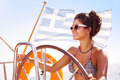Sexy woman on sailboat - PhotoDune Item for Sale