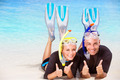 Joyful diver couple - PhotoDune Item for Sale